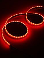 cheap -AMBOTHER Car 72SMD COB LED Running Brake Lamp Reverse Signal Tail Light Bar Strip Truck Waterproof Universal