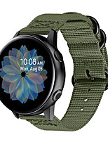 cheap -Watch Band for Samsung Galaxy Watch 42mm / Samsung Galaxy Active / Samsung Galaxy Watch Active Samsung Galaxy Sport Band / Modern Buckle / Business Band Nylon Wrist Strap