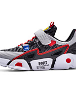 cheap -Boys' Comfort Mesh Trainers / Athletic Shoes Little Kids(4-7ys) / Big Kids(7years +) Running Shoes / Walking Shoes Black / Dark Blue Summer / Fall / Color Block