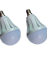 cheap -2pcs 5 W LED Globe Bulbs 300 lm E14 E26 / E27 10 LED Beads SMD 5730 Warm White White 220-240 V