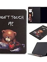 cheap -Case For Apple iPad Air / iPad 4/3/2 / iPad Mini 3/2/1 Wallet / Card Holder / with Stand Full Body Cases Word / Phrase PU Leather