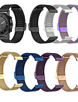 cheap -Watch Band for Forerunner 245M / Forerunner 645 / Garmin Forerunner245 Garmin Milanese Loop / Business Band Stainless Steel Wrist Strap
