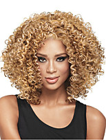 cheap -Synthetic Wig Curly Pixie Cut Wig Short Light golden Light Brown Dark Brown Natural Black Synthetic Hair 12 inch Women's Easy to Carry Women Synthetic Blonde Light Brown