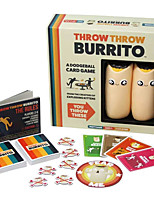cheap -Party Game Throw throw Burrito Home Entertainment Adults Kids Boys and Girls Toys Gifts