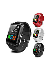 cheap -U8 Unisex Smartwatch Android iOS Bluetooth Waterproof Heart Rate Monitor Blood Pressure Measurement Health Care Camera Control ECG+PPG Pedometer Sleep Tracker Sedentary Reminder Community Share