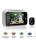 Недорогие -Взрыв 3,5-дюймовый широкоугольный камеры видео интеллектуальный монитор дверной звонок HD электронная камера кошачий глаз двери зеркало ночного видения