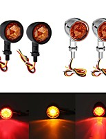 cheap -12V Universal Motorcycle Bullet Turn Signal Indicator Brake Runnning Lights 4 Wire