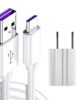 Недорогие -1,5 м 5a USB мобильный телефон типа c кабель для быстрой зарядки американский стандарт USB зарядка