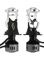 cheap -G9 H4 LED Headlights with Mini Projector Lens Hi/Lo Beam Bulb 60W 9600LM 6500K White for Car Motorcycle