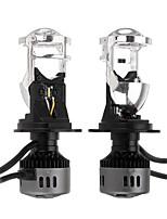 Недорогие -G9 h4 светодиодные фары с мини-объективом проектора хай-лоу луч лампы 60 Вт 9600lm 6500 К белый для автомобиля мотоцикла