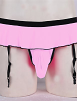 cheap -Men's Basic G-string Underwear - Normal Low Waist Blushing Pink One-Size