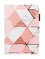 cheap -Case For Apple iPad 10.2 / iPad Mini 3/2/1 /Mini 4/5 Wallet / Card Holder / with Stand Full Body Cases Marble PU Leather For iPad Pro 9.7/New Air 10.5 2019/Air 2/2017/2018