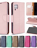 cheap -Case For Huawei P40 / Huawei P40 Pro / Huawei P40 lite Wallet / Card Holder / with Stand Full Body Cases Litchi Pattern PU Leather / TPU for Mate 30 Lite / Mate 30 Pro / Honor 10 Lite