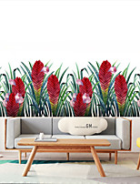 cheap -Green Plants Wall Stickers for Bedroom Living Room Dining Room Kitchen Kids Room DIY Vinyl Wall Decals Door Murals