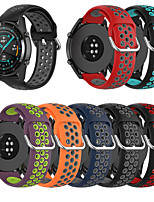 cheap -Watch Band for vivoactive3 vivomove HR sport vivomove Forerunner245 Forerunner645 Garmin Sport Band Modern Buckle TPE Wrist Strap