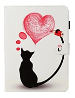 cheap -Case For Apple iPad New Air 10.5 / iPad Mini 3/2/1/4/5 Card Holder / with Stand / Flip Full Body Cases Cat PU Leather For iPad 10.2 2019/Pro 11 2020/Pro 9.7/2017/2018