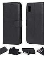 Недорогие -деловой кожаный флип-кейс для samsung galaxy a71 / a51 / m40s / m30s / a10s / a20s / m30 / m20 / m10 подставка для кошелька съемная магнитная 2 в 1 для samsung a70 / a50 / a60 / a30 / a20 / a10 / a10e