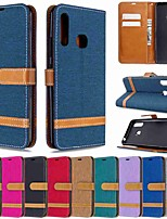 cheap -Case For Samsung Galaxy S20 / Galaxy S20 Plus / Galaxy S20 UltraWallet / Card Holder / with Stand Full Body Cases Denim PU Leather / TPU for Galaxy A51 / A71 / A70E / A41 / A11 / A01 / A21