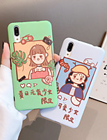 cheap -VIVO Phone Case IMD TPU Cartoon Pattern for OPPO RENO RENO2 R11 R15 R17 R9S Back Cover