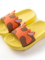 cheap -Boys' / Girls' Comfort PVC Sandals Toddler(9m-4ys) / Little Kids(4-7ys) Water Shoes Black / Yellow / Pink Spring / Summer / 3D