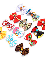 cheap -Beautiful and Cute Pet Accessories Cat Hair Accessories Dog DIY Beauty Decoration Long Hair Dog Hair Accessories (Random colors)