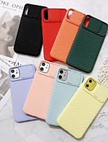 cheap -Solid Colored PC Case with Lens Cap for Apple iPhone 11 Pro Max X XR XS Max 8 Plus 7 Plus 6 Plus SE Back Cover