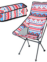 cheap -Camping Chair Portable Foldable Washable Comfortable Aluminum Alloy Oxford for 1 person Fishing Beach Camping / Hiking / Caving Traveling Autumn / Fall Summer Red / White Yellow