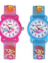 cheap -Kids Sport Watch Quartz 30 m Water Resistant / Waterproof Day Date Analog Cartoon Fashion - Blue Blushing Pink One Year Battery Life