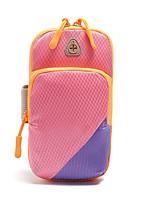 cheap -Fonoun Running Pack for Running Sports Bag Adjustable Waterproof Waterproof Zipper Color Block Waterproof Material Women's Running Bag Adults Teen