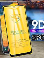 Недорогие -9d изогнутый край полная бухта для Samsung Galaxy A50 A40 A30 A70 A10 протектор экрана из закаленного стекла