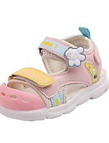 cheap -Girls' Comfort PU Sandals Little Kids(4-7ys) Pink / Blue Summer