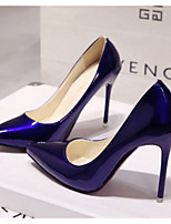 cheap -Women's Wedding Shoes Spring & Summer Stiletto Heel Pointed Toe Wedding PU Almond / White / Black