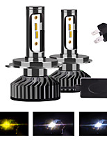 cheap -2pcs H4 / H13 / 9004 / 9007 Motorcycle / Car Light Bulbs LED Fog Lights / Daytime Running Lights / Headlamps For Universal