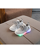 cheap -Boys' / Girls' LED Shoes Synthetics Trainers / Athletic Shoes Little Kids(4-7ys) / Big Kids(7years +) Black / Pink / Gray Spring / Summer