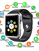 cheap -A1 Unisex Smartwatch Android Bluetooth Waterproof Sports Health Care Camera Control Pedometer Sedentary Reminder Community Share
