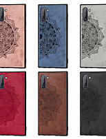 cheap -Case For Samsung Galaxy Note 9 / Note 8 / Galaxy Note 10 Pattern Back Cover Flower Oxford Cloth for