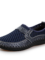 cheap -Men's Spring / Summer Casual Daily Loafers & Slip-Ons Mesh Black / Green / Blue