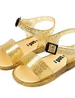 cheap -Girls' Comfort PVC Sandals Toddler(9m-4ys) Black / Pink / Gold Summer