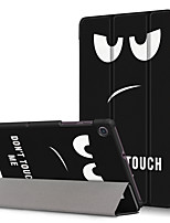 cheap -Case For Lenovo Lenovo Tab M8 HD TB-8505F / X / Tab M8 FHD TB-8705F / N / Lenovo Tab M7 TB-7305F / Lenovo Tab 7 / Tab4 7(TB-7504F / N / X) Pattern Back Cover Cartoon Genuine Leather