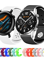 cheap -Sport Silicone Wrist Strap Watch Band for Huawei Watch GT 2e / Honor Magic Watch 2 46mm/42mm / GT2 46mm/42mm / GT Active / Watch 2 Pro / Watch 2 Replaceable Bracelet Wristband