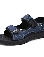 cheap -Boys' Comfort Canvas Sandals Big Kids(7years +) Walking Shoes Black / Brown / Dark Blue Summer