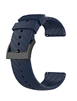 cheap -Watch Band for SUUNTO 9 Suunto Classic Buckle Silicone Wrist Strap