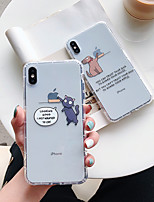 cheap -Shockproof TPU Cat Dog Case for Apple iPhone 11 Pro Max X XR XS Max 8 Plus 7 Plus 6 Plus SE Back Cover
