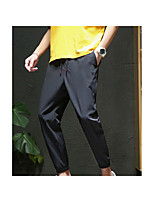 cheap -Men's Hiking Pants Hiking Cargo Pants Summer Outdoor Standard Fit Breathable Quick Dry Sweat-wicking Comfortable Cotton Pants / Trousers Bottoms Running Camping / Hiking Hunting Black Grey Dark Navy