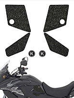 cheap -Motorcycle tank grip fuel tank traction pad side knee grip friction protector sticker for HONDA 13-15 CB500X 13-15 CB500X ABS
