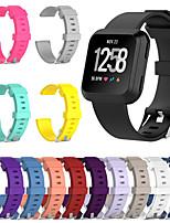 Недорогие -новый сменный ремешок для часов fitbit наоборот fitbit versa lite умные часы мягкий силиконовый классический браслет