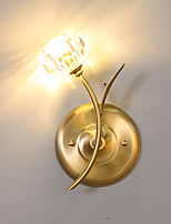 Недорогие -QIHengZhaoMing Настенные светильники Хрусталь настенный светильник 110-120Вольт / 220-240Вольт 5 W