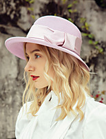 cheap -Elegant Polyester Hats with Bowknot 1pc Casual / Daily Wear Headpiece