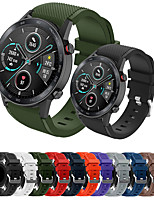 cheap -Sport Silicone Wrist Strap Watch Band for Huawei Watch GT 2e / Honor Magic Watch 2 46mm / GT2 46mm / GT Active / Watch 2 Pro Replaceable Bracelet Wristband