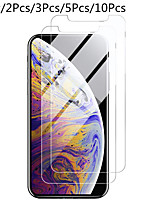 cheap -1PC/2PC/3PC/5PC/10PC Screen Protector for iphone 11 Pro Max XS XR 6s 7 8 Plus 5s SE 2 Screen Protector protective Glass on iphone X 11 Pro Max Tempered Glass